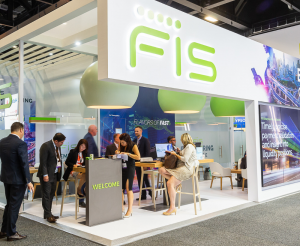 FIS exhibition stand at Sibos