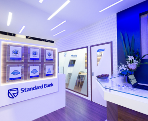 Standard Bank exhibition stand